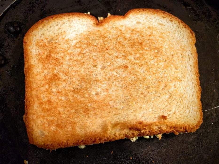 bread on tawa 2 1 - VEG CHEESE SANDWICH (GRILLED)
