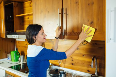 cleaning kitchen cabinets - How To Deep Clean Your Kitchen
