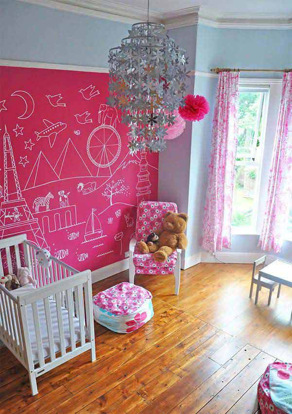 Painting Girl`s Bedroom Ideas